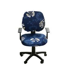 Office Chair Cover Computer Slipcover Stretch Remov Chair Seat Covers Us Stock