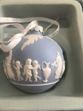 Wedgwood Collection Icon Blue Ornament in original box