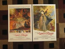 "Lord of the Rings ( 11"" x 17"" )  Movie Collector's Poster Prints ( Set of 2 )"