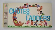 Vintage Chutes and Ladders Game from Milton Bradley 4555 Unopened