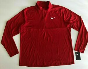 DM1485-687 New with Tag Men's Nike Dri-fit  Core Element 1/2 zip Shirt Top