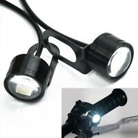 2pcs New 12V Eagle Eye LED Daytime Running Fog Backup Light Motorcycle Car Lamp