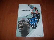 MINESOTA TIMBERWOLVES 01/02 NBA MEDIA GUIDE