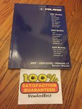 2007 2008 2009 Polaris EDGE WIDETRAK LX  Touring RMK Shop Repair Service Manual