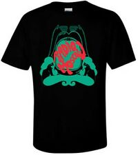 RADIO MOSCOW - T SHIRT- GREEN AND RED ON BLACK