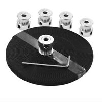 3D printer accessories 20-tooth synchronous wheel +5m open timing belt + wrench