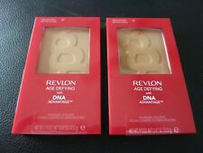 Revlon Age Defying Pressed Powder with DNA - MEDIUM DEEP #20 -TWO- New / Sealed