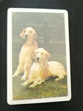 Vintage Playing cards: English Setter Dog sealed in original plastic