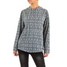 L Damen-Pullover & -Strickware mit Kapuze aus Baumwolle