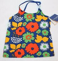 NWT MARIMEKKO Target Girl Kukkatori Swim Bathing Suit Tankini TOP ONLY Medium
