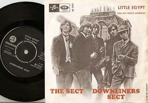 THE DOWNLINERS SECT  LITTLE EGYPT DANISH SWEDISH 45+PS 1964   MOD R&B FREAKBEAT