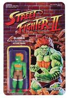 STREET FIGHTER BLANKA 2 REACTION 3.75 INCH Action FIGURE SUPER 7 new!