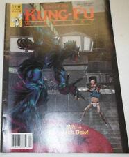 Kung-Fu Warriors Magazine Sifu Vs Jack Daw April 1989 081914R