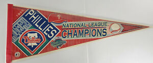 VINTAGE 1993 PHILLIES Pennant National League Champions World Series POOR cndtn