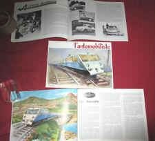 L'automobiliste N°62 : Alpine A 110, Bugatti  Atlantic , Talbot Lago baby
