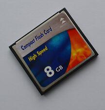 8 GB Compact Flash Speicherkarte für Digital Kamera mit CF Slot