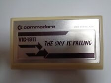 COMMODORE VC-20 / VIC-20 --> THE SKY IS´ FALLING (VIC-1911) / CARTRIDGE
