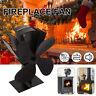 Heat Powered Wood Stove Fan for Log Wood Burner Fireplace Eco Fan Black 3 Types