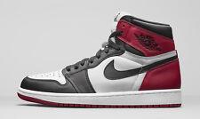 Nike MEN'S Air Jordan 1 Retro High OG BLACK TOE SIZE 11 BRAND NEW BRED BANNED DS
