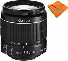 Canon EF-S 18-55mm 18-55  f/3.5-5.6 IS STM Camera Lens Brand New