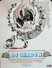 DJ SHADOW 2002 the private press promotional poster New Old Stock Flawless