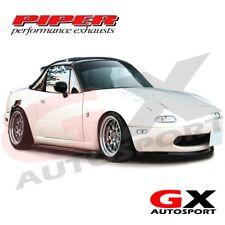 CMAZ2C Piper Manifold Back 0 Silencer & Decat Down Pipe Mazda MK1 MX-5 1.6/1.8