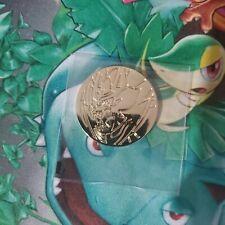 Zamazenta Gold Metal Coin (Sword & Shield Ultra Premium Collection)