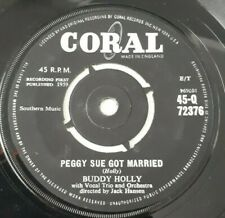 "BUDDY HOLLY - 1959 - ""PEGGY SUE GOT MARRIED"" - Coral - Q72376 - *EX*"