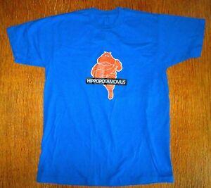 MOMUS Hippopotamomus  t-shirt - rare