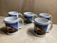 Kansas City Southern The Southern Belle Coffee Cup Set Of 5