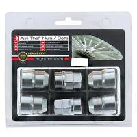 Butzi (14x1.5) Chrome Anti Theft Locking Wheel Bolt Nuts & 2 Keys for Tata Xenon