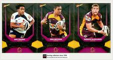 2011 Select NRL Champions Trading Cards Silver Foil Team Set Broncos (12)