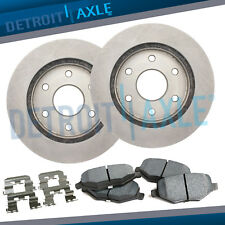 Front Disc Brake Rotor and Ceramic Pad 2008-2015 GMC Sierra Chevy Silverado 1500