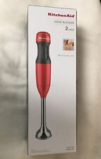 KitchenAid  2 Speed Hand Blender Empire Red