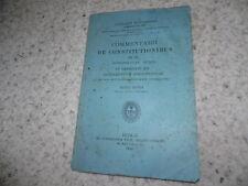 1890.Commentarii constitutionibus.Sacramentum ponitentiae.Bucceroni