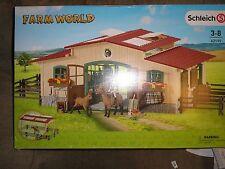 Schleich Farm World Horse Stable Playset #42195