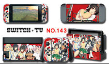 Vinyl Decal Skin Sticker Protector for Nintendo Switch Loverly Animate Girl #143