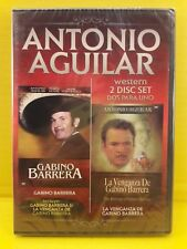 Antonio Aguilar Gabino Barrera y La Venganza de Gabino - DVD Nuevo Free shippin
