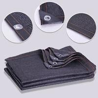 Shade Cloth 65%-70% Sunblock Shade Cloth Net Bulk UV Resistant Fabric Mesh 3Size