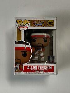 Funko Pop Allen Iverson (Philadelphia 76ers) NBA Legends Series 2 *Damaged*