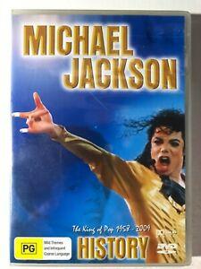 Michael Jackson History DVD (DISC 100% MINT) The King of Pop 1958-2009