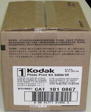 Kodak Photo Print Kit for 6800 / 6850 Thermal Printer 6R Ribbon & Paper 169 6418