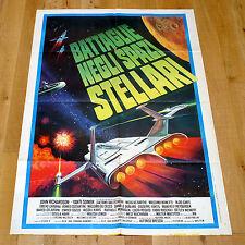 BATTAGLIE NEGLI SPAZI STELLARI manifesto poster Cosmo 2000 Yanti Somer Sci Fi