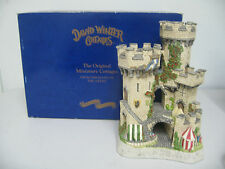 """David Winter Cottage """"The Kingmaker's Castle"""" Limited Edition 1994 No.0878/7150"""