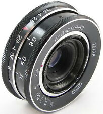 *Virtually NEW* INDUSTAR-69 2.8/28 Russian Wide Angle Pancake Lens M39 LOMO #14