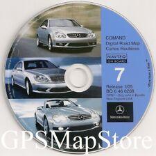 2003 2004 Mercedes Benz SL600 SL500 SL55 AMG Navigation CD #7 New England Region