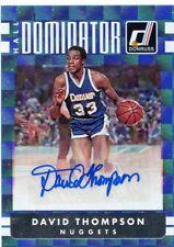 David Thompson 2016-17 Panini Donruss Hall Dominator Auto Autograph #D /49