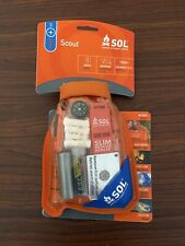 NEW SOL  Waterproof Scout Survival Kit  S.O.L.
