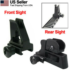 Rear Iron Sight, High Profile Front Aluminum Sight,or Combo with Picatinny Rail