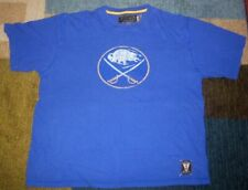 VINTAGE-Style CCM Authentic BUFFALO SABRES Royal Blue THROWBACK SHIRT L jersey